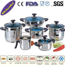 11pcs stainless steel cookware
