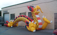 new design inflatable Chinese traditional dragon
