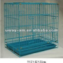 UW-604 large durable pet dog cage,made of iron, with three doors