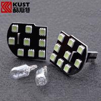 KUST Car Interior Accessories Roof LED Reading Light For Cruze 2015 LED Dome Festoon Light Lamp For Chevrolet