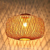 restoration hardware special promotion lighting easy to fit nature material bamboo pendant lighting lamp