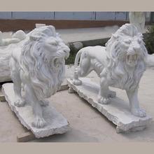 Carved Lion Marble Sculptures Stone Sculpture MAS41