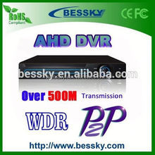 2015 hot selling 720p & 960p 4ch 8ch 16ch ahd dvr Analog HD DVR ahd DVR with factory price