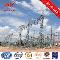 110KV to 750KV Electricity Substation Steel Structures