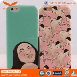 Factory wholesale price ainimal sex girl 3D printed phone case for iphone phone case