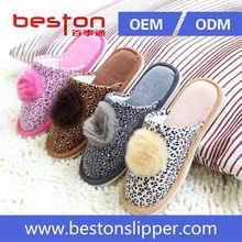 2015 beautiful and high quality women sheepskin slipper