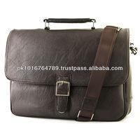 Soft Genuine Leather Briefcase Leather Laptop Messenger Bag 2014 Shoulder Bag
