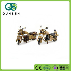 new design decorative wooden toy motorcycle