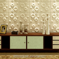 fashion design spring home decoration emboosed wallpaper
