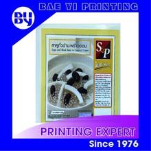 Color Printing Desert label sticker for Freezer