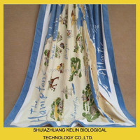 OEM quick dry cotton design your own reactive printed beach towel