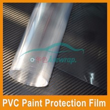 Easy Self-adhesive Clear Plastic Film Vehicle Wrap Clear Vinyl Sticker Car Protection