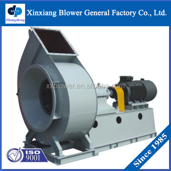Dust Removal Fans : Industrial cement hot air dust removal centrifugal blower