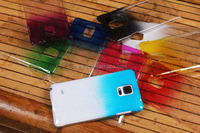 Popular Raindrop clear crystal cover for Samsung galaxy note 4
