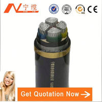 Flame retartdant 240mm xlpe 4 core armoured cable