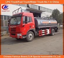 chemical liquid truck,faw aqua ammonia truck 10cbm,10000lL chemical liquid truck