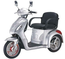 tricycle electric wheelchair three wheel scooter with roof 200-500W