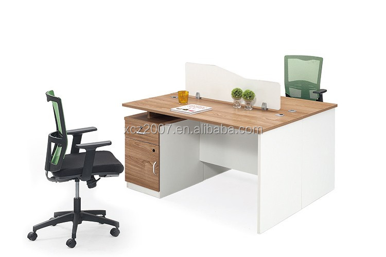 Büromöbel design holz  Modernes design holz schreibtisch für 2 personen büromöbel ...