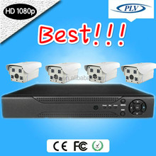 Best selling 4Channel Standard 1080P HD IP security camera set,Video Surveillance system Kit