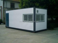Portable and movable container house