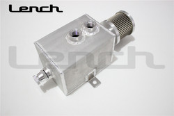 High Quality Racing 2L Aluminium Fuel tank , oil catch can with breaher and drain tap 1LT baffled