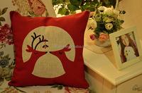 bluk wholesale newest design vintage kids custom bed rest linen large sofa pillows