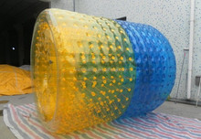 The Water Wheel Makes Clean Water Cheaper/Inflatable Roller Ball