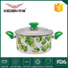 hot sale new design Casseroles With Glass Lid sets supplier