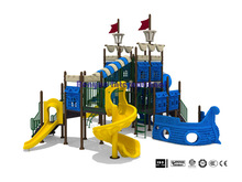 amusement park pirate ship theme plastic playground outdoor children playsets