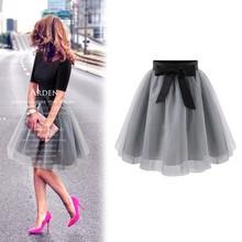 2015 fashion princess fairy style 2 layers bouffant girls puffy dresses tulle skirt