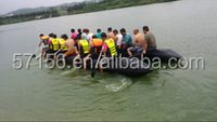 30 Persons 8 Meters High Quality Passenger Inflatable Big Boat
