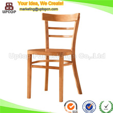 (SP-EC702) Antique ladder back malaysia rubber wood chair for dining