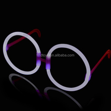 White Round Glow Eye Glasses Spectacles for Bachelorette Party Ideas