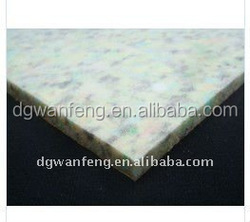 heating insulation batts/PU foam carpet reborn foam underlay