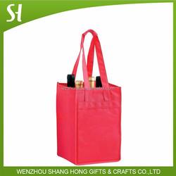 jute wine bottle bag wedding gift bag/Handy Eco jute Wine Tote bag