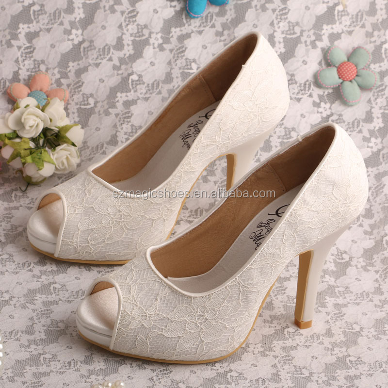 lace small size high heel shoes size 4 buy small size