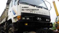korea used hyundai dump truck for sale
