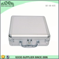Cheap waterproof aluminum briefcase portable metal case