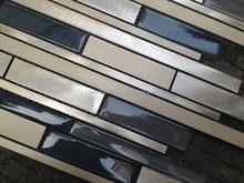 fotos mosaic glass metallic mosaic for kitchen backsplash wall tile