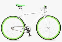 fixed bicycle fixie bikes color white