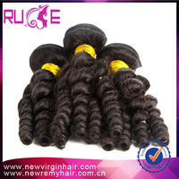 High Quality 5A 20 inch Natural curl fast delivery 100% virgin human hair extensions india