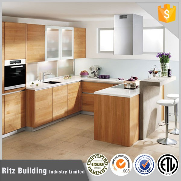 Ritz Customized Kitchen Cabinet Laminate Materials