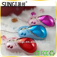 Christmas Gift Decorative Shoes Shaped Computer Mouse Kids Mouse