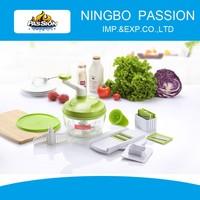 Multi Manual Vegetable Chopper, salad spinner and chopper, fruit and vegetable chopper