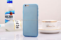 Cell phone accessory ultra thin transparent clear tpu gel silicone phone case for iphone 6 wholesale