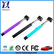 Portable camera tripod selfie handheld stick, handheld selfie stick wireless monopod, selfie stick extendable hand held monopod