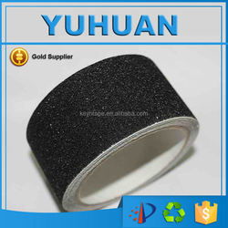 2015 Strong Adhesion Wholesale Waterproof Black Anti Slip Tape for stairs