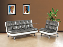 Hot sale high quality click clack sofa bed comfortable leather sofa bed