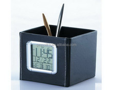 Innovative new design wholesale resin leather brush pot
