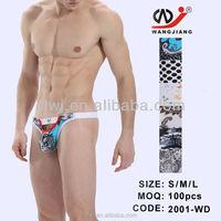 High fashion Hot Sexy underwear G-string For Men Sexy G string for men /2001-WD